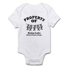 Property of Fish & Game Infant Bodysuit