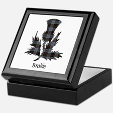 Thistle - Brodie hunting Keepsake Box
