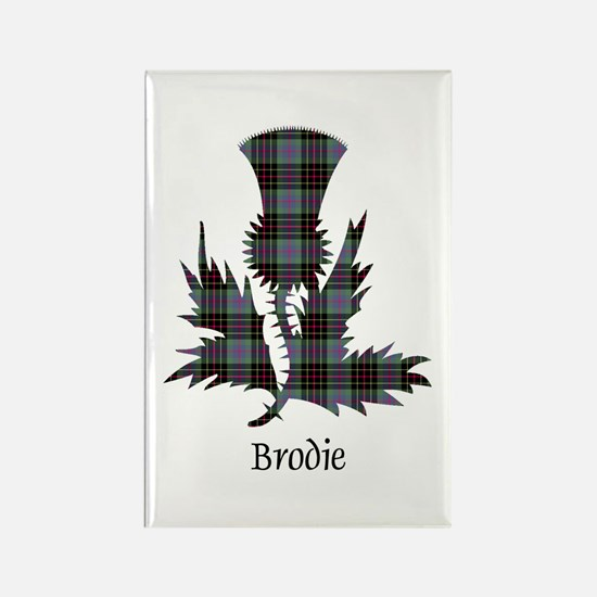Thistle - Brodie hunting Rectangle Magnet