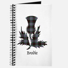 Thistle - Brodie hunting Journal