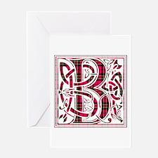 Monogram - Brodie Greeting Card