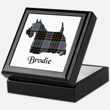 Terrier - Brodie hunting Keepsake Box