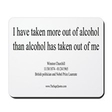Alcohol Mousepad