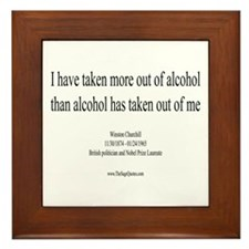 Alcohol Framed Tile