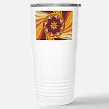 Floral vortex Travel Mug