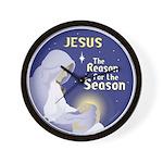 Jesus the Reason Wall Clock