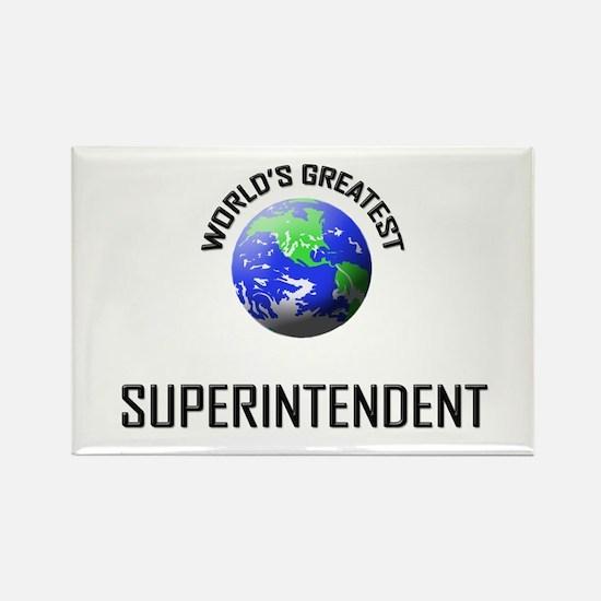 World's Greatest SUPERINTENDENT Rectangle Magnet
