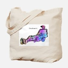 All Over It Tote Bag