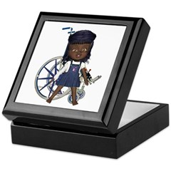 Katy Broken Right Arm Keepsake Box