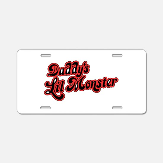 Inspiration Text - Daddy&#3 Aluminum License Plate