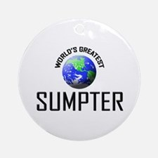 World's Greatest SUMPTER Ornament (Round)