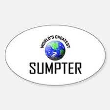 World's Greatest SUMPTER Oval Decal