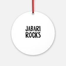 Jabari Rocks Ornament (Round)
