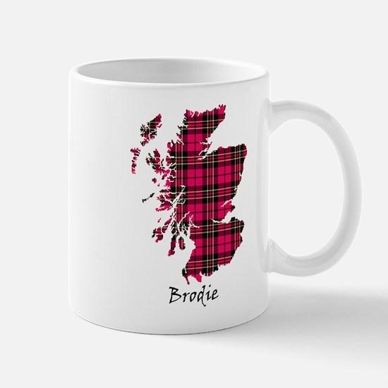 Map - Brodie Mug