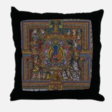 Cute Buddhism Throw Pillow