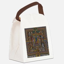 Funny Buddhism Canvas Lunch Bag