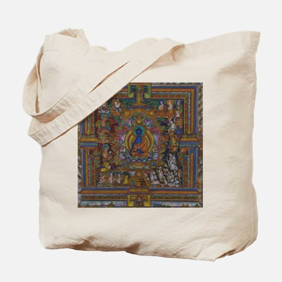 Cool Buddhism Tote Bag