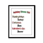 What's Hot Today? Framed Panel Print