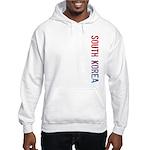 South Korea Stamp Hooded Sweatshirt