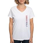 South Korea Stamp Women's V-Neck T-Shirt