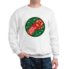 Christmas Wreath Sweatshirt