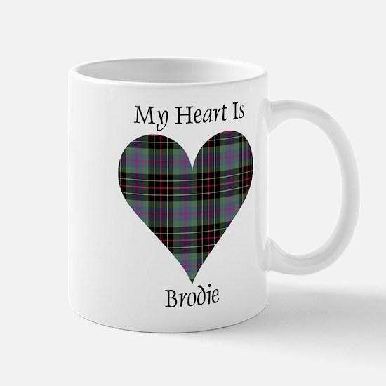 Heart - Brodie hunting Mug