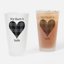 Heart - Brodie hunting Drinking Glass
