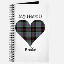 Heart - Brodie hunting Journal