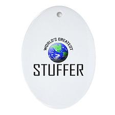 World's Greatest STUFFER Oval Ornament