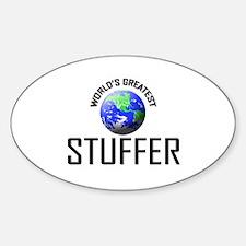 World's Greatest STUFFER Oval Decal