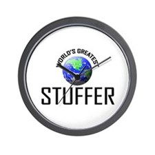 World's Greatest STUFFER Wall Clock