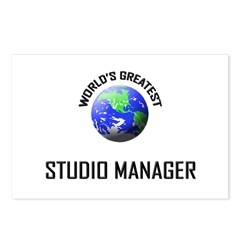 World's Greatest STUDIO MANAGER Postcards (Package