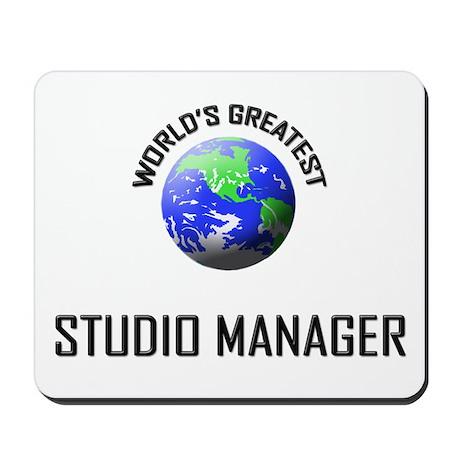 World's Greatest STUDIO MANAGER Mousepad