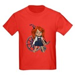 Broken Rt Arm Kids Dark T-Shirt