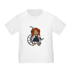 Broken Rt Arm Toddler T-Shirt