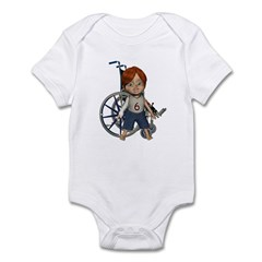 Kevin Broken Rt Arm Infant Bodysuit