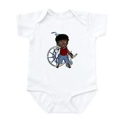 Keith Broken Rt Arm Infant Bodysuit
