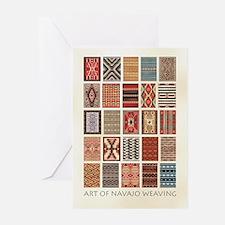 Art of Navajo Weavin Greeting Cards