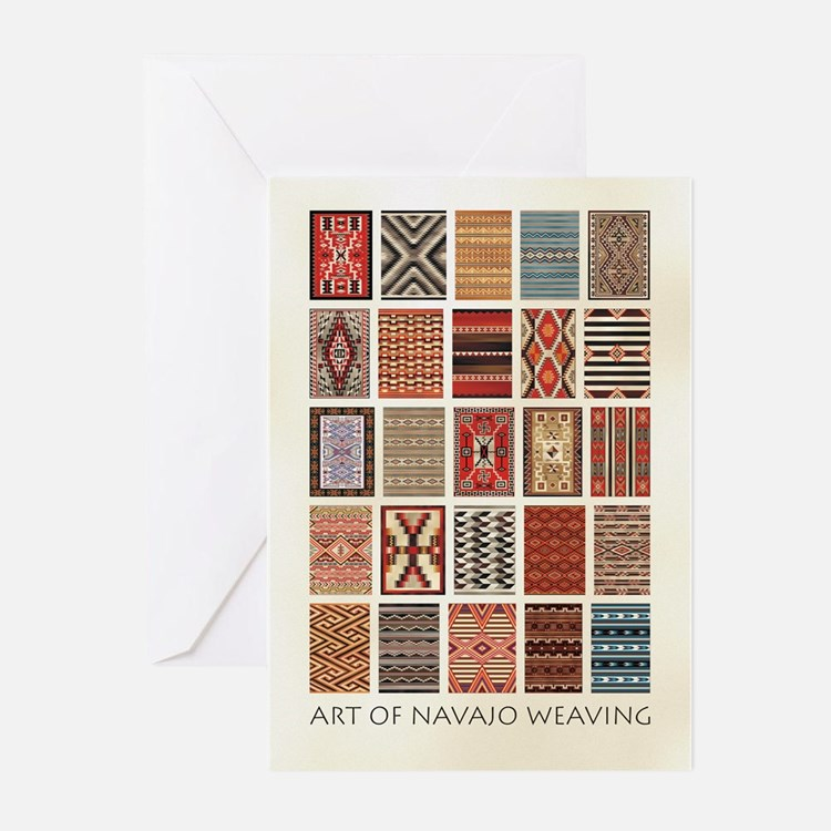 Art of Navajo Weavin Greeting Cards