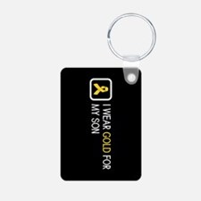 Childhood Cancer: Gold For Keychains