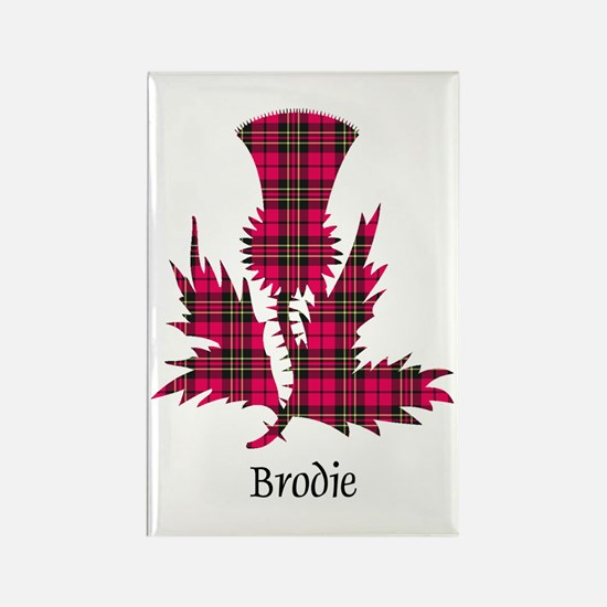 Thistle - Brodie Rectangle Magnet