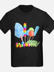 candy circus boy- png T-Shirt
