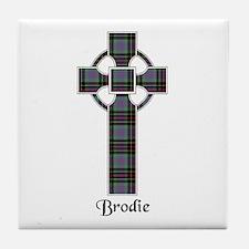 Cross - Brodie hunting Tile Coaster