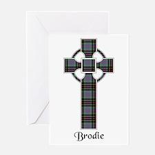 Cross - Brodie hunting Greeting Card