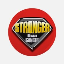 "Stronger than cancer 3.5"" Button"