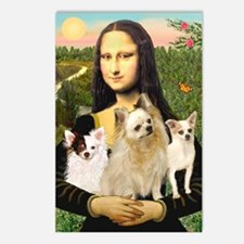 Mona / 3 Chihs Postcards (Package of 8)