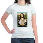 Mona / 3 Chihs Jr. Ringer T-Shirt