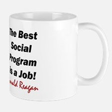 """Reagan: Get A Job!"" Mug"