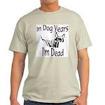 Dog Years Ash Grey T-Shirt