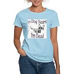 Dog Years Women's Pink T-Shirt